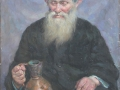 1960-Old-man`s-portrait,-Oil-on-canvas,-100x60-cm