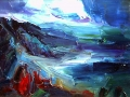 2001 pm-22582 Landscape, Oil on canvas, 35x50 cm. 2001
